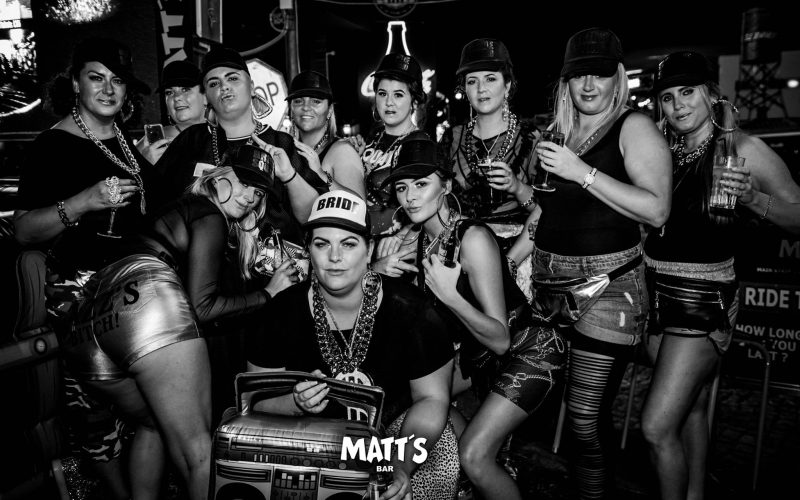 party time matts bar