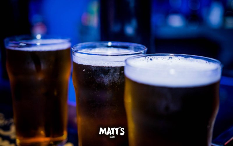 cheap beer matts bar