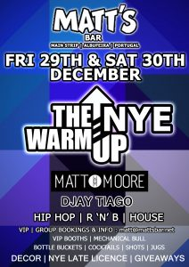 Matts Bar New Years Eve