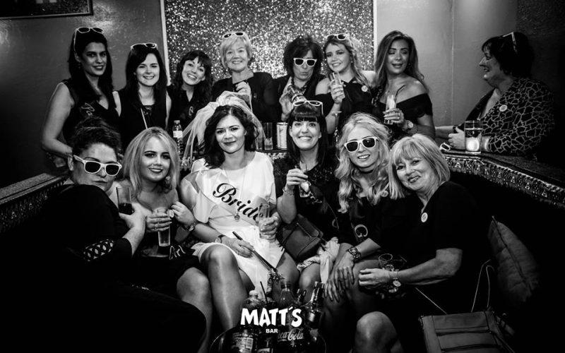 VIP booth Matt's