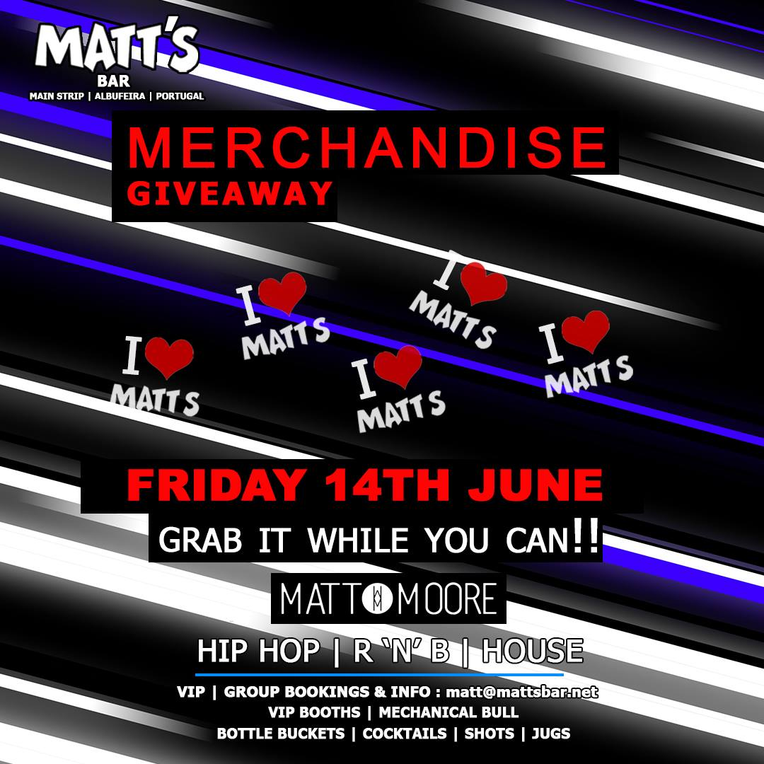 Merchandise Giveaway Party