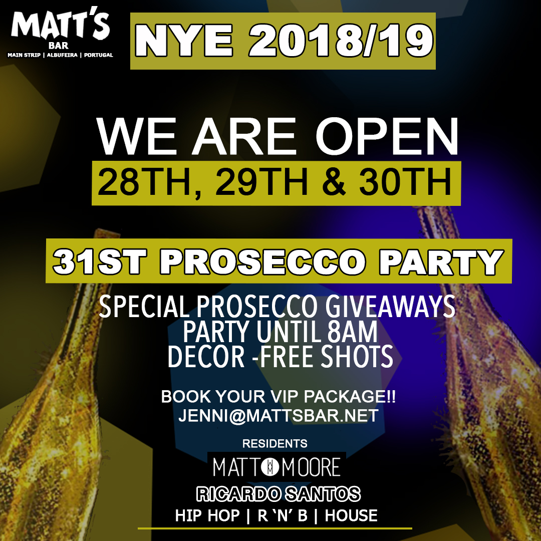 NYE Pre Party