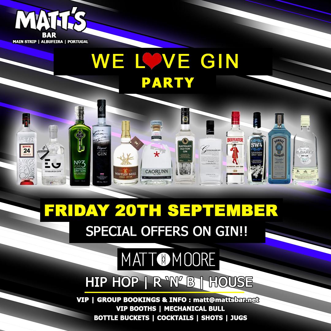 Matt's Love Gin