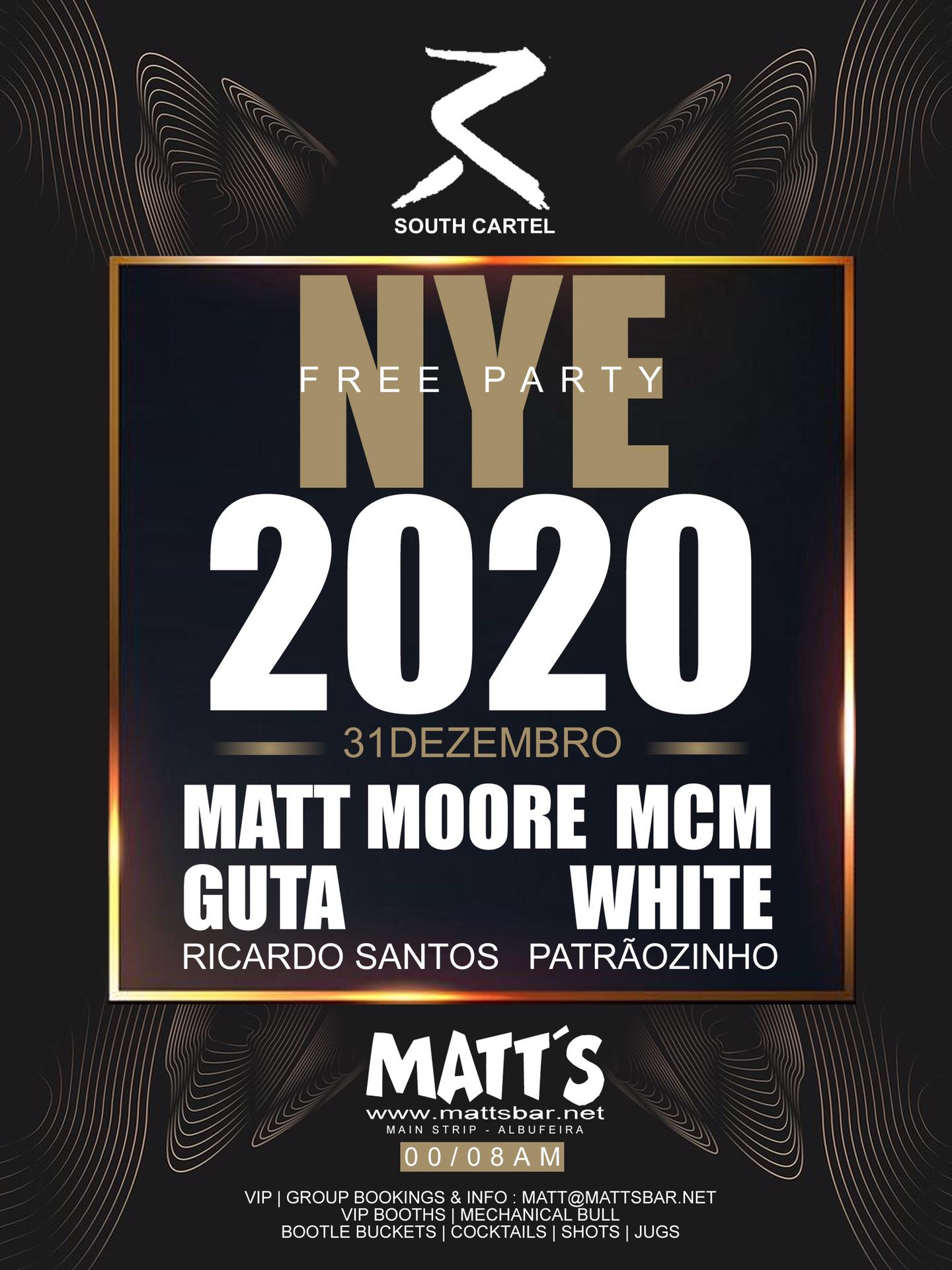 NEW YEAR'S EVE 2019/2020