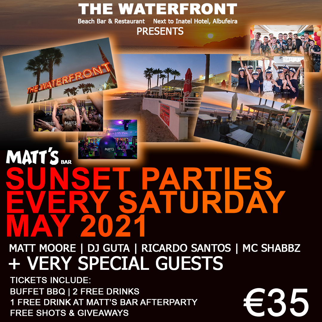 MATT'S BAR SUNSET PARTY @ THE WATERFRONT